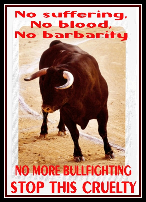 STOP BULLFIGHTING (2)